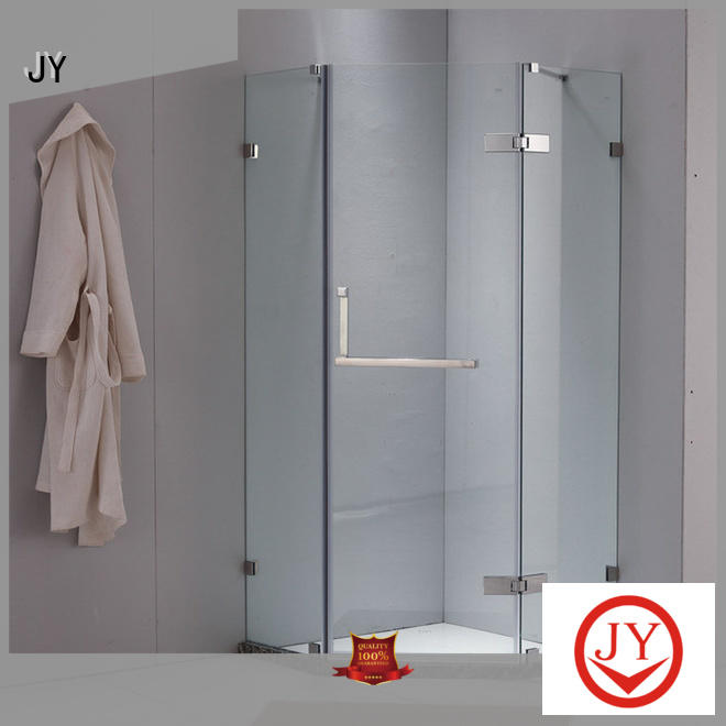 JY glass shower door kit China for Glass products