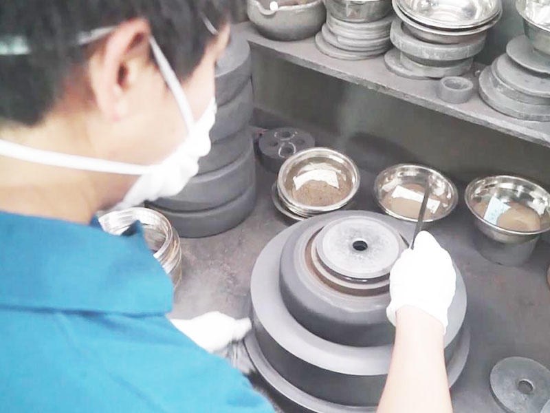 glass resin cup wheels moulds casting 2