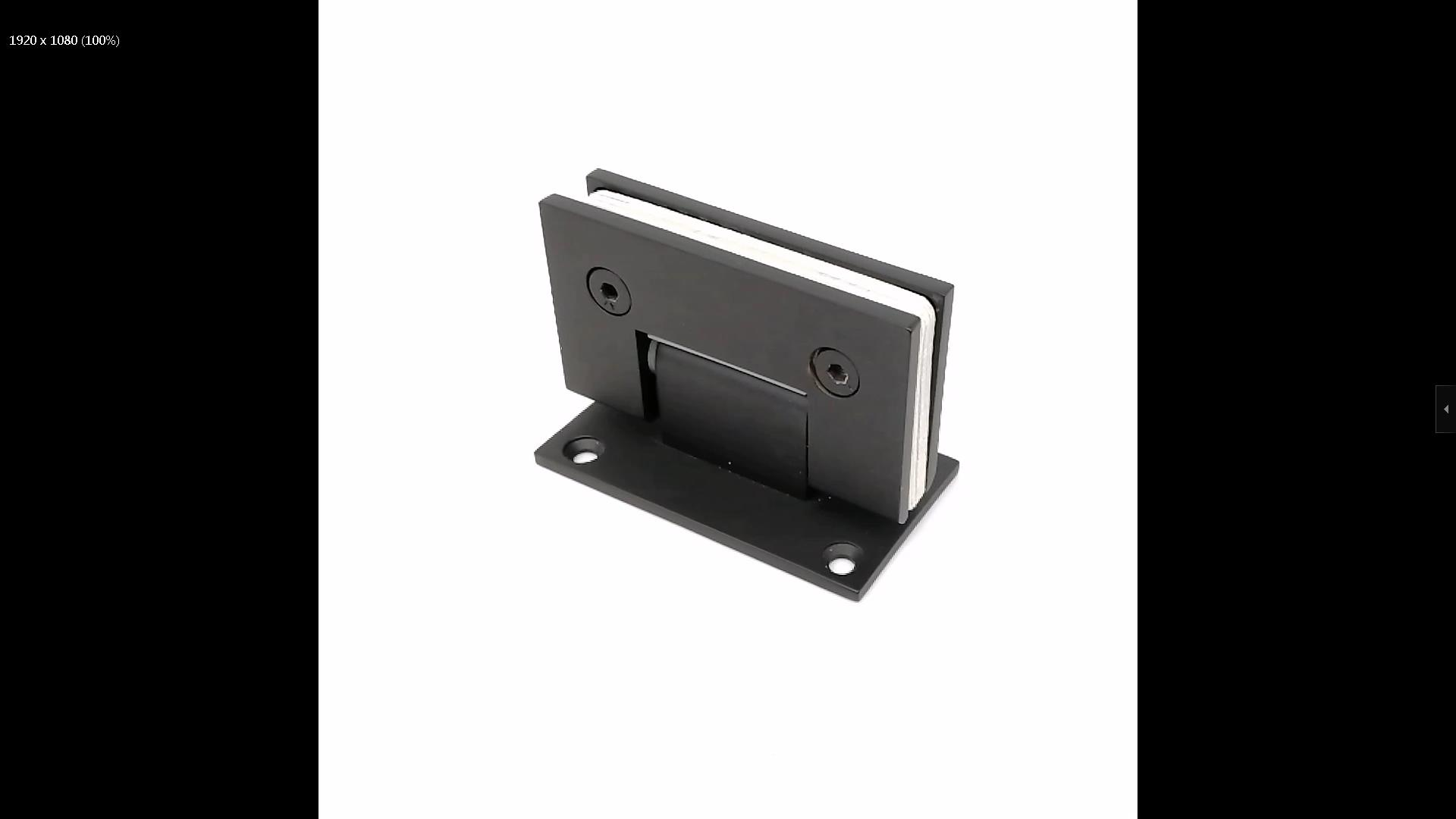 SH-2-T1CR ORB-glass hinges-glass hardware-glass hinges-JY