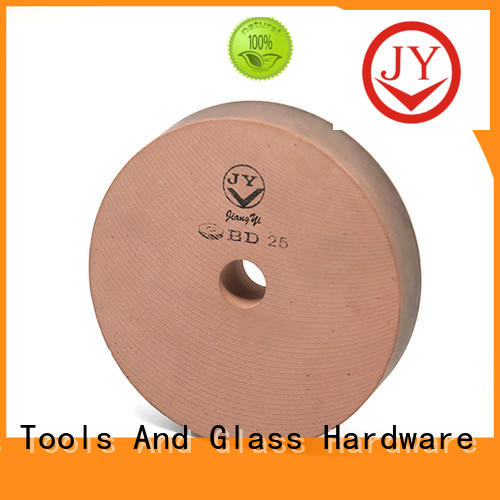 quick edge shaping glass polishing wheels factory for furniture glass