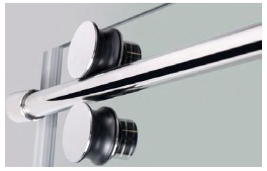 product-Whole Set Frameless Sliding Door Accessories with Tempered Glass 106S11-JY-img