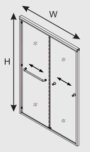 product-Frame Sliding Door Accessories-JY-img