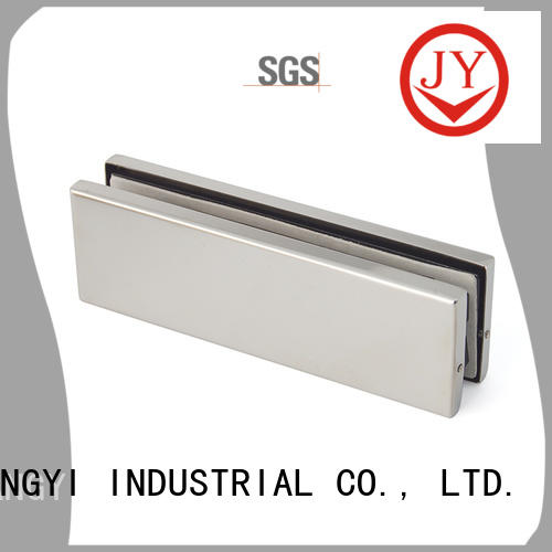JY Top stainless steel patch fittings Exporter for Glass product