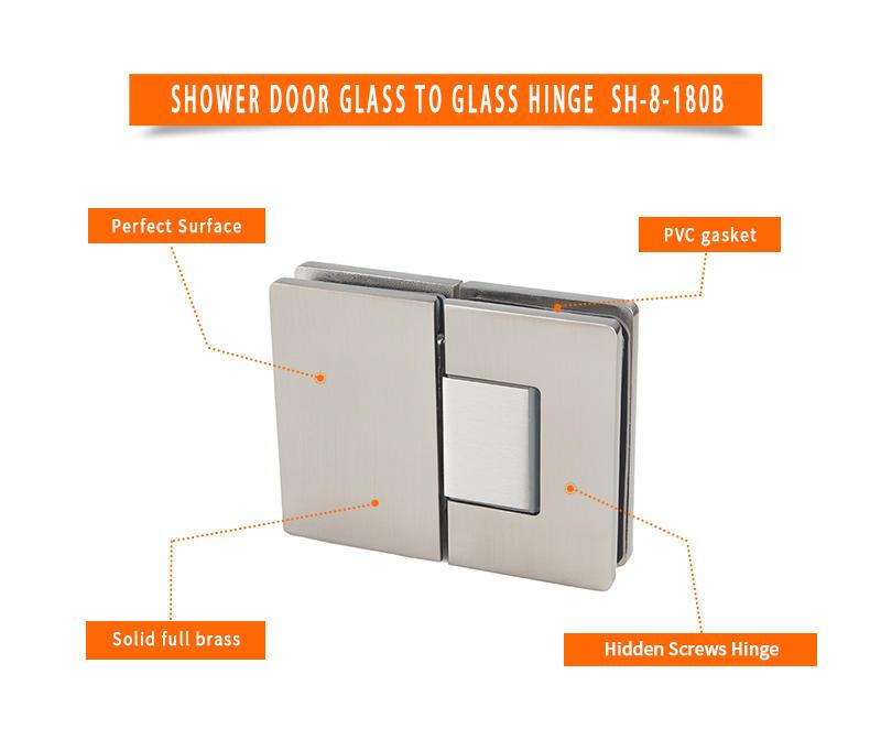 high quality adjustable door hinges factory for Wet Rooms-2