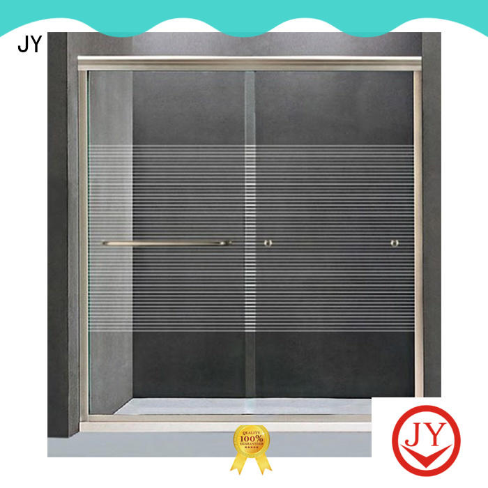 JY fine- quality exterior sliding barn door hardware the company for Glass products