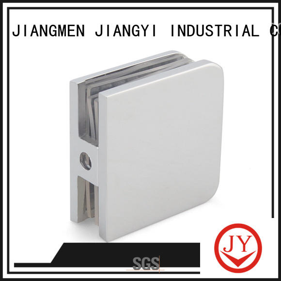 JY glass clamps and supports factory for Hotel Shower Room