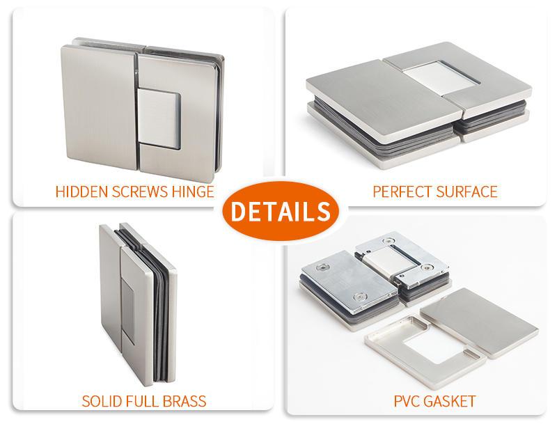 high quality adjustable door hinges factory for Wet Rooms-3