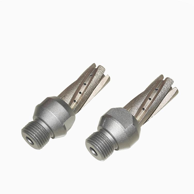 Glass milling tool for CNC machine