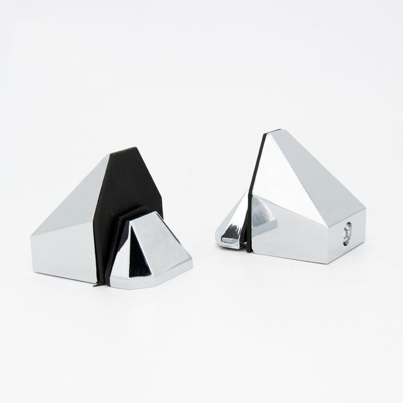 Bathroom Glass Holder Clips J104-1