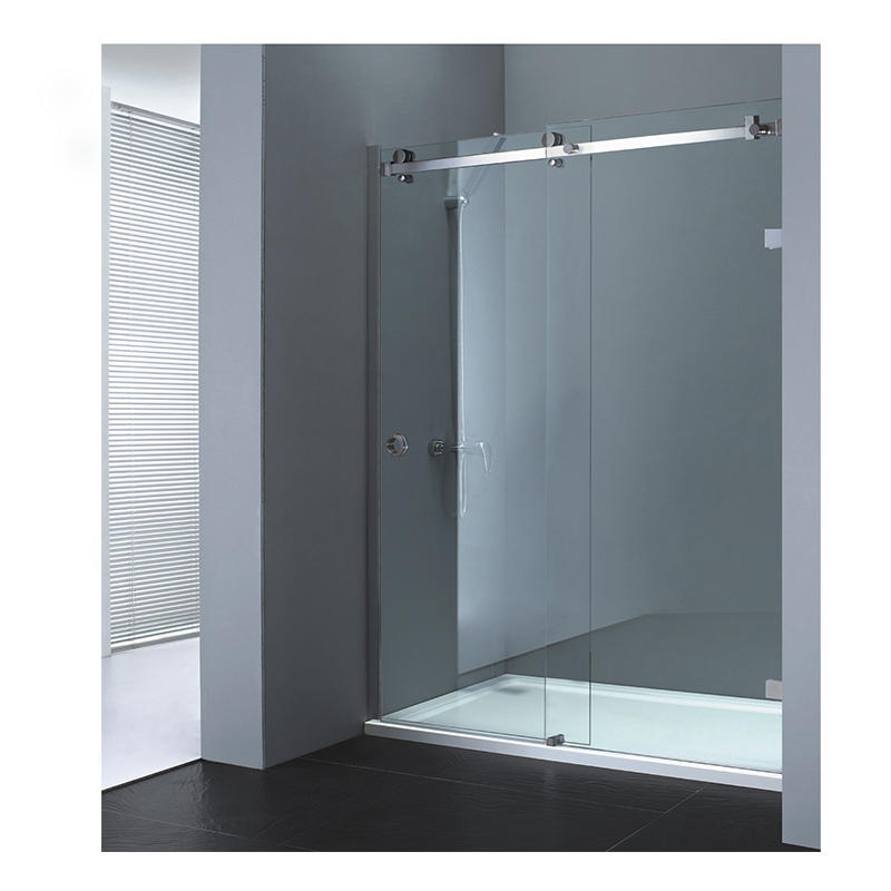 Glass Shower Sliding Door Set Stainless Steel 304 KA-S002