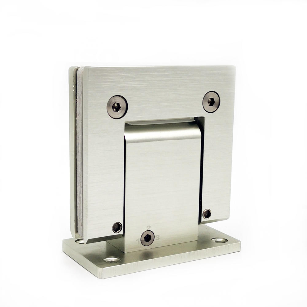 Hydraulic Square Bevel 90 Degree Wall to Glass Shower Hinge SH-2-T1H