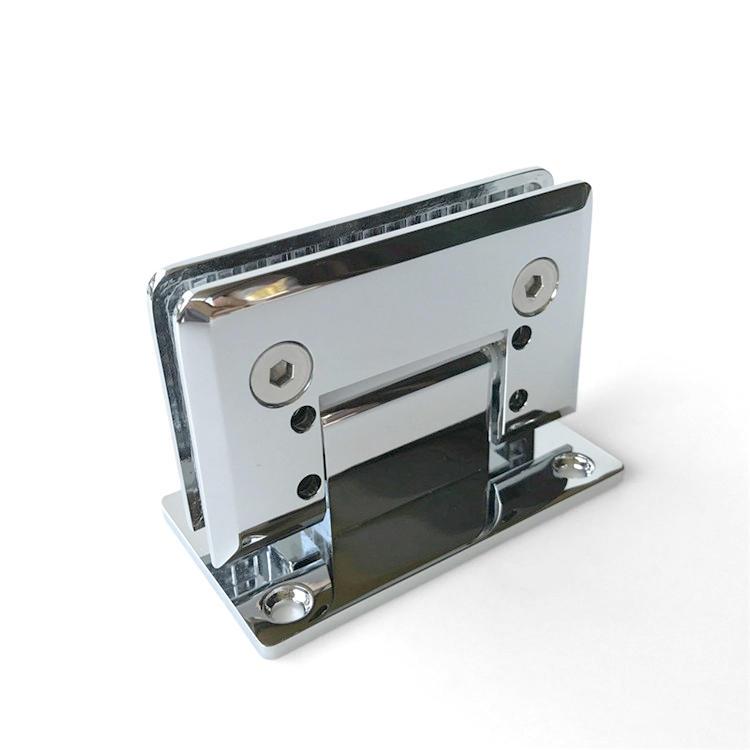 Frameless hinge shower tempered glass door     SH-1-T1AD