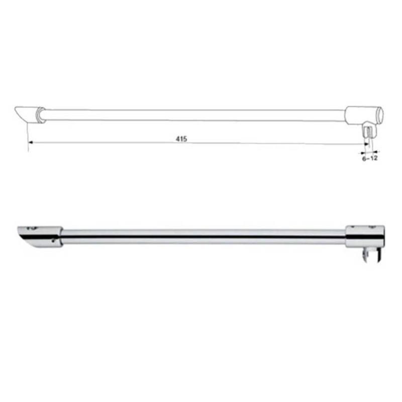 Shower Supporting Bar Curtain Rod KA-94