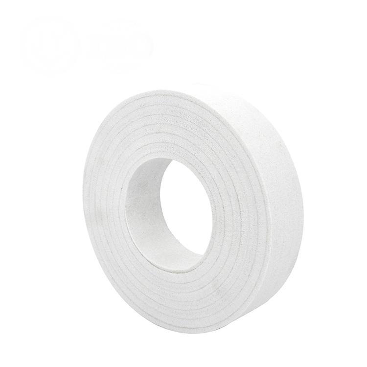 Spiral felt polishing wheel F
