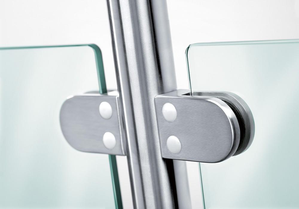 corner glass bracket JY