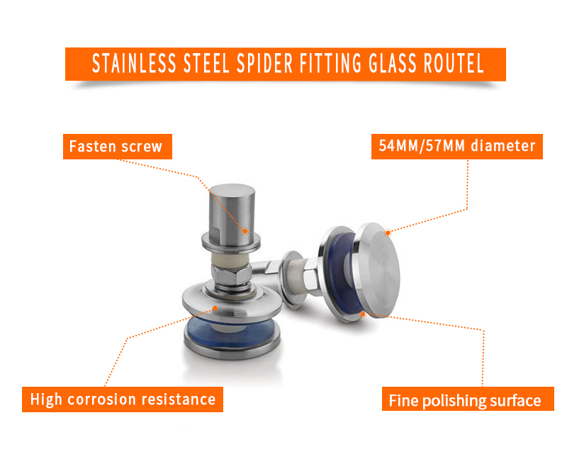 product-Stainless Steel Spider Fitting Glass Routel PT-2-JY-img