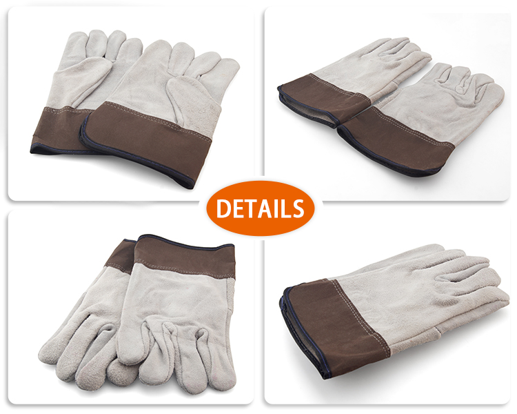 product-Glass safety glove leather Industrial work gloves GGL-F1-JY-img