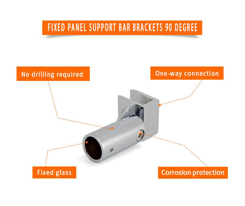 product-Fixed Panel Support Bar Brackets 90 Degree KA-002-JY-img
