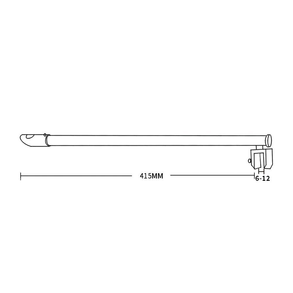 Good Quality Shower Curtain Rod Support KA-96