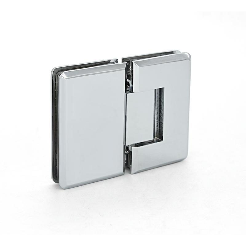 180 degree glass door brass Shower room hardware hinge   SH-1-180