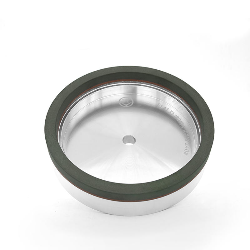 Glass resin cup toothless grinding wheel EL