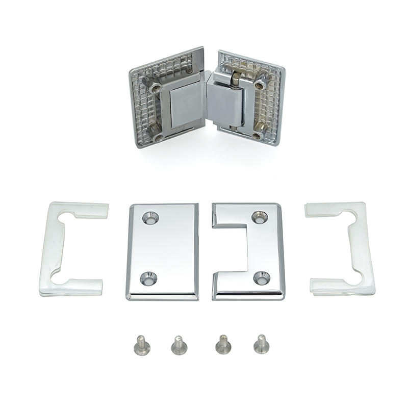 135 Degree Brass Glass To Wall Thickness Shower Room Connector Hinge  SH-1-135