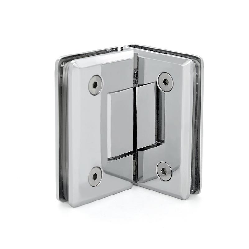 Brass 10mm glass door hinge brass shower hinge SH-1-L1