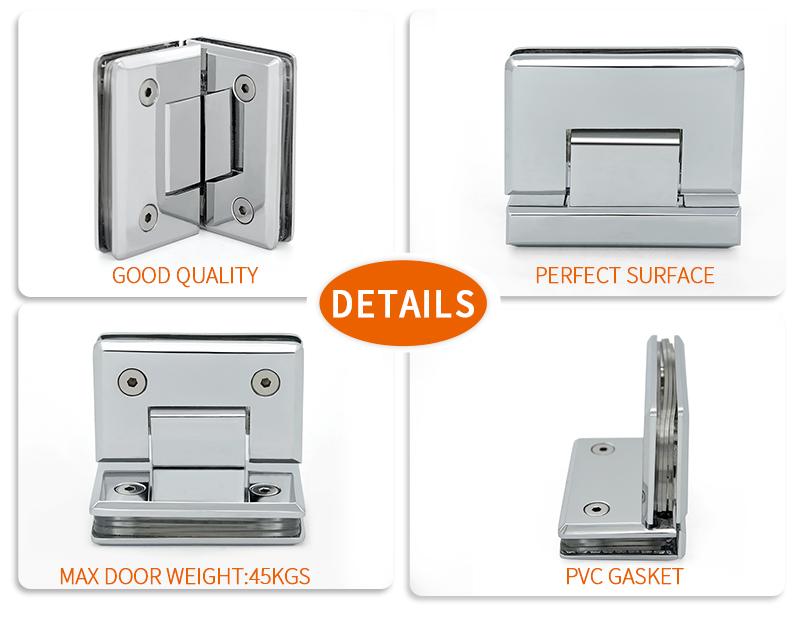 product-Brass 10mm glass door hinge brass shower hinge SH-1-L1-JY-img