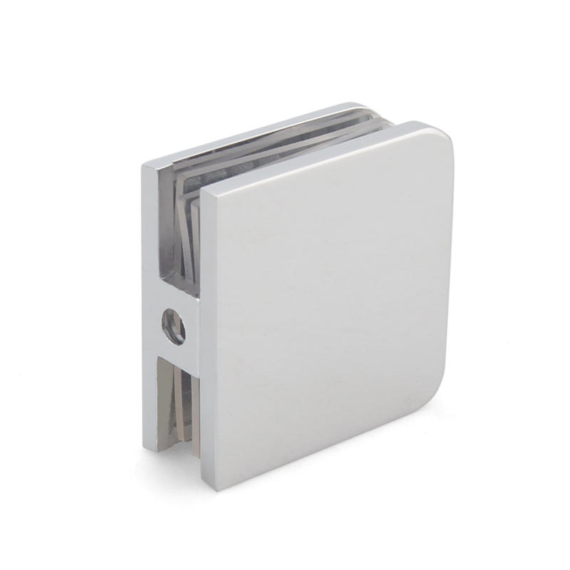Round Angle Shower Door Glass Clips GC-2-01