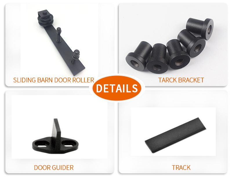 product-Barn Wooden Sliding Door Hardware Set KA-S013-JY-img