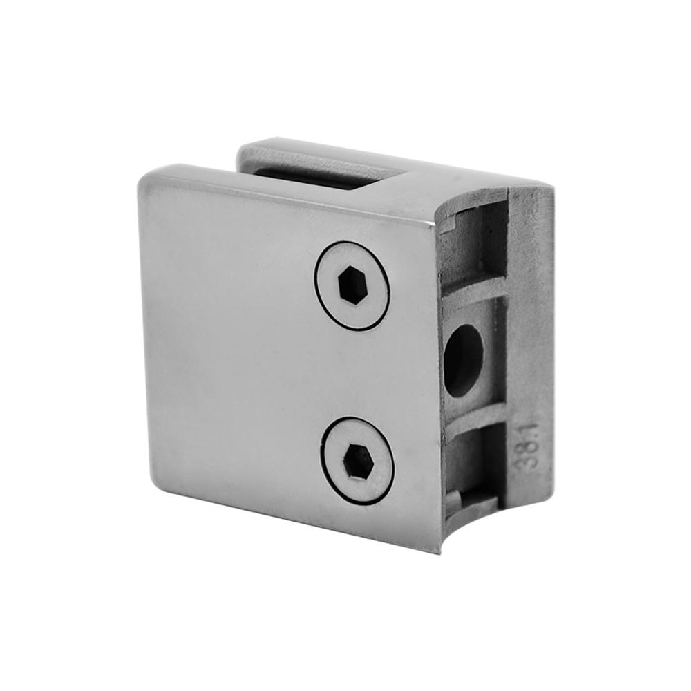 Square Stainless Steel Handrail Glass Clips GC-016R