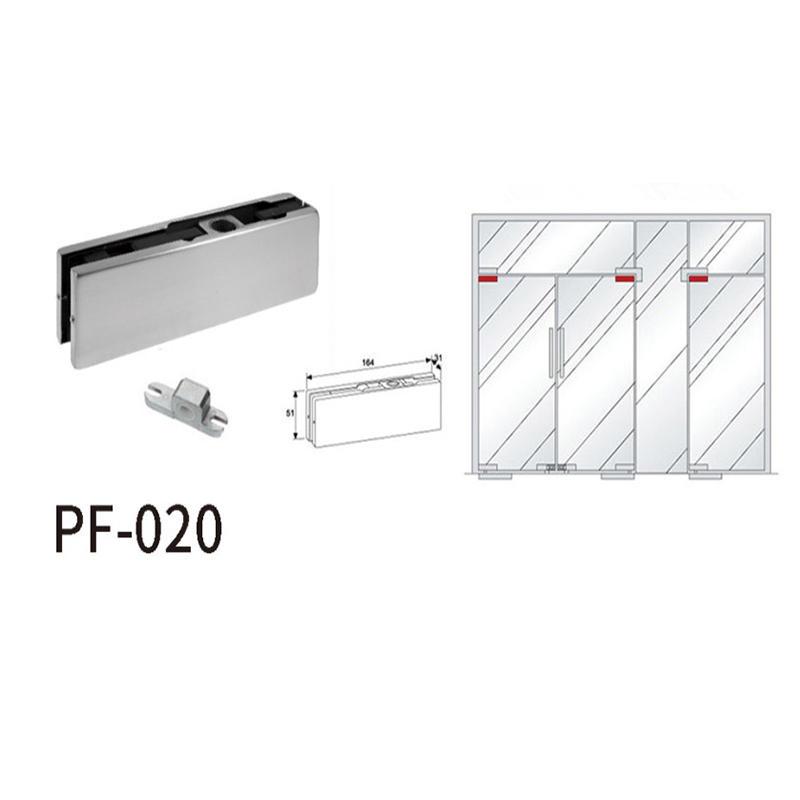 Top Door Patch Fitting For Glass Swing Door PF-020