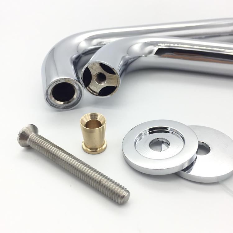 Glass door pulls and handles Brass CRL GDH-27R