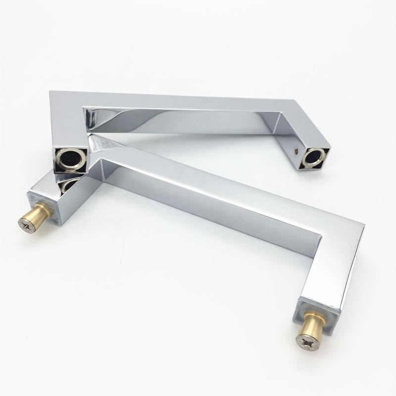 Glass door pulls and handles Brass CRL GDH-27S