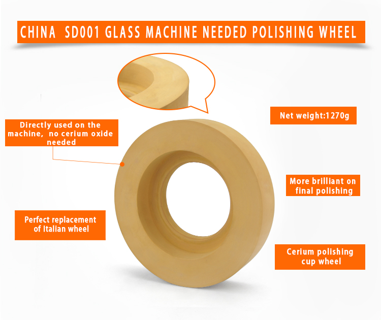 product-Chinese High Efficiency Cerium polishing cup wheel cerium SD001-JY-img