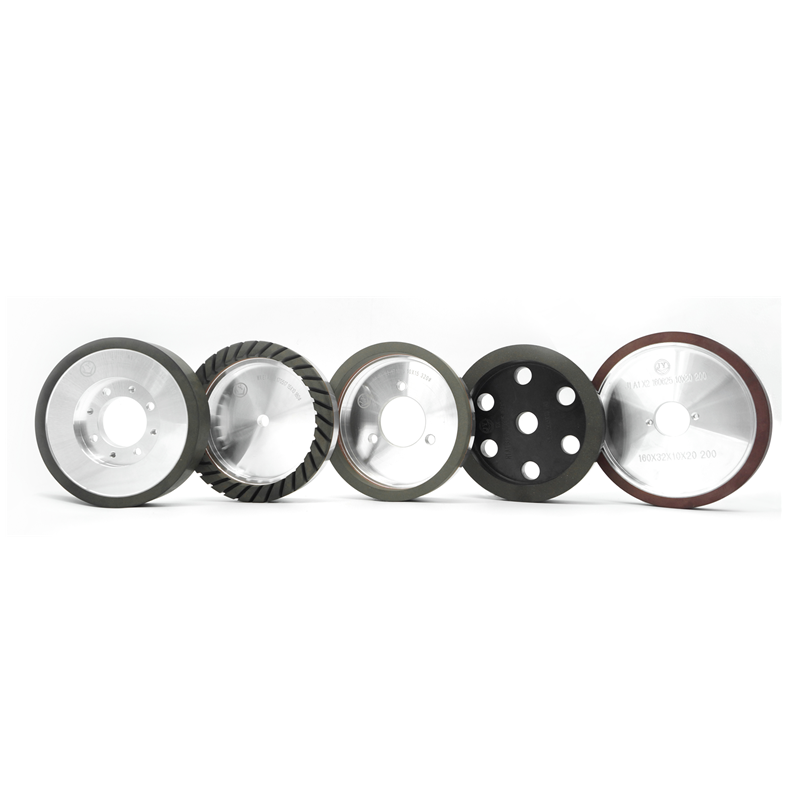 Glass Resin Cup Two-clip Resin Wheel EE