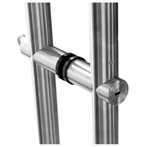 Glass Door Pulls and Handles Long Handle Lock  HDL-06