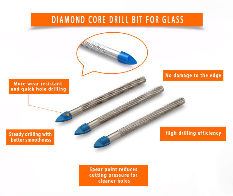 product-Glass Drill Bits Triangular Drill DB-TB-JY-img