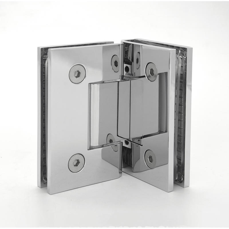 Adjust Glass Brass Shower Door Pivot Hinge      SH-2-L1