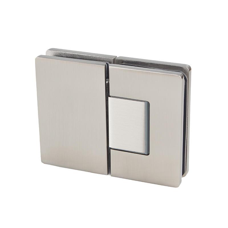 Glass to glass brass shower door hinge for bathroom   SH-8-180B
