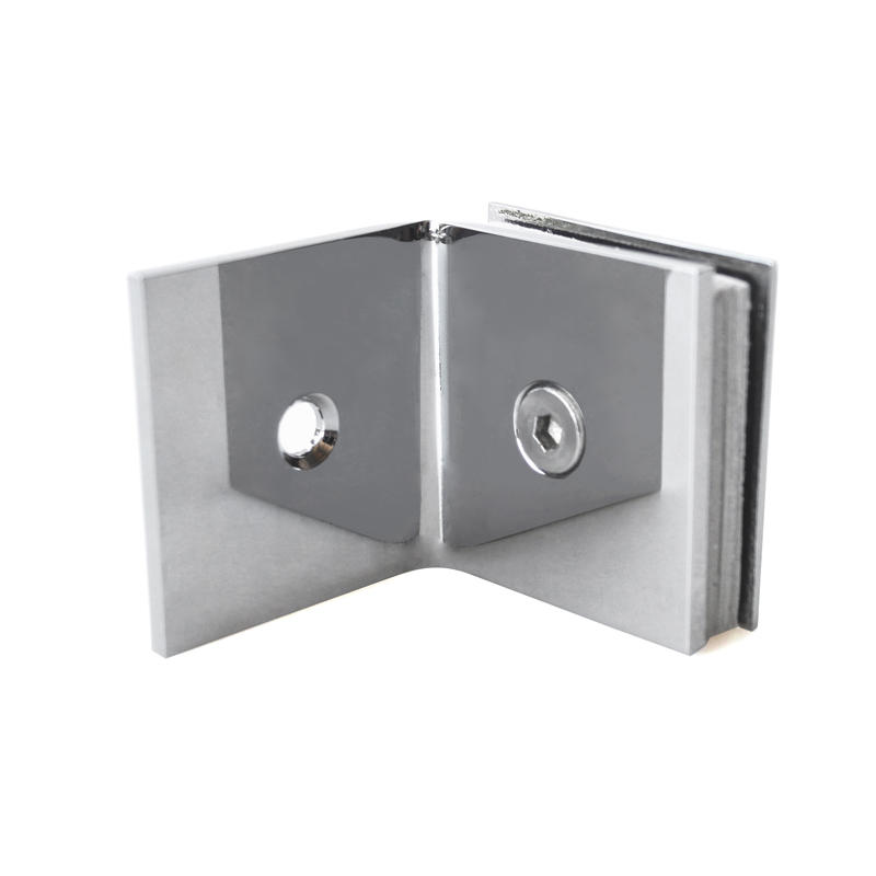 Wall Mount Shower Door Glass Clip GC-90CD
