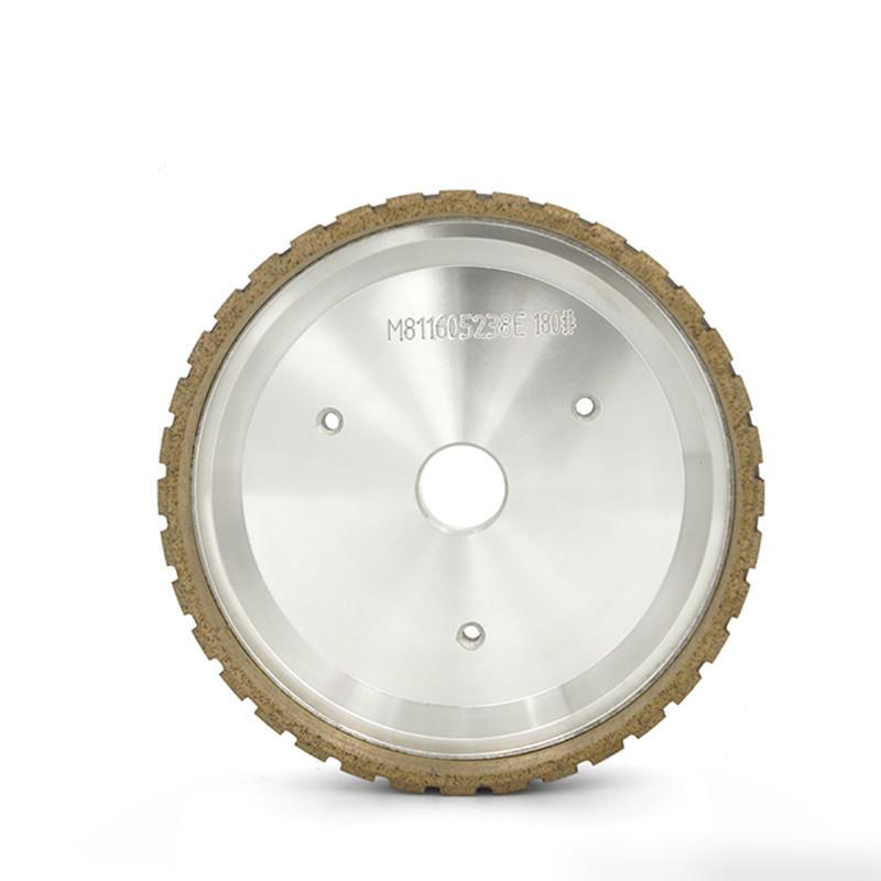 External segmented beveling glass diamond wheel AW-QE