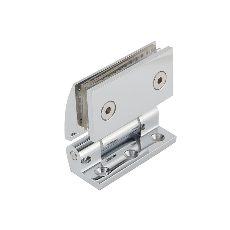 Solid brass wall mount shower door hinge SH-7-71
