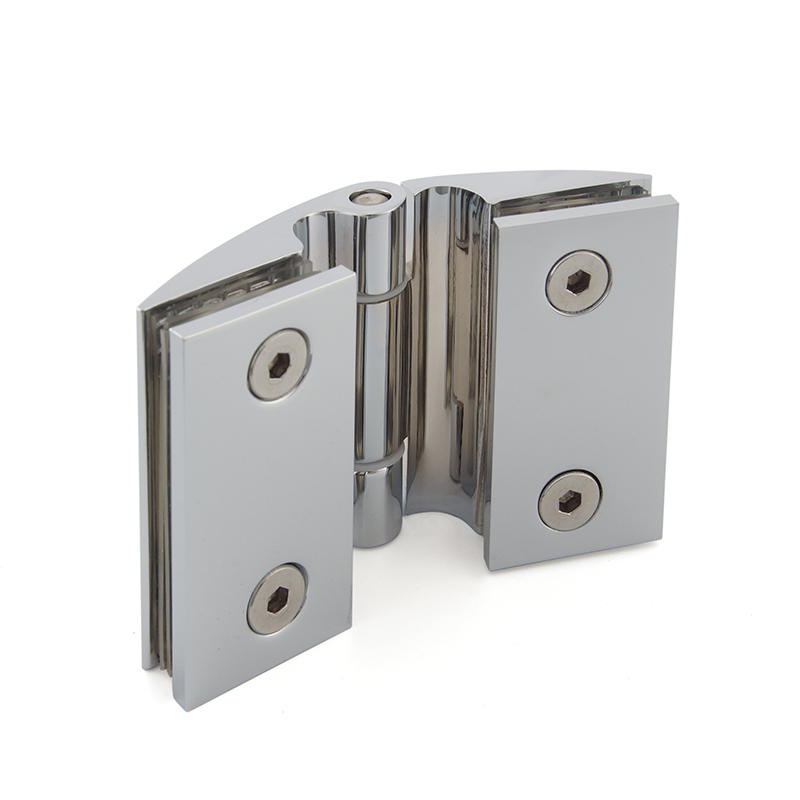 Top selling frameless bathroom copper brass shower hinge SH-7-72