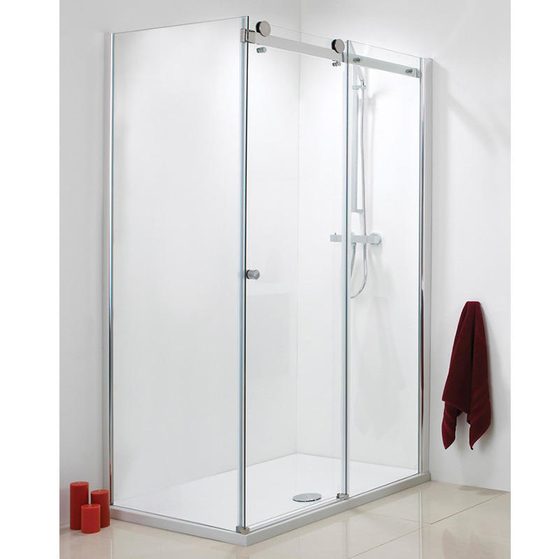 90 Degree Glass Sliding Shower Door Stainless Steel 304 KA-S011