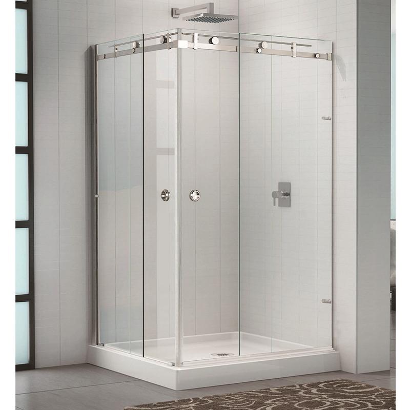 product-90 Degree Sliding Shower Glass Door Stainless Steel 304 KA-S001-JY-img