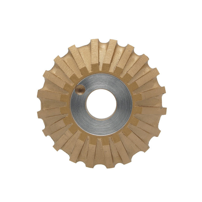 Glass Diamond Peripheral wheel 45 degree wheel With Welded Segments AS-M45