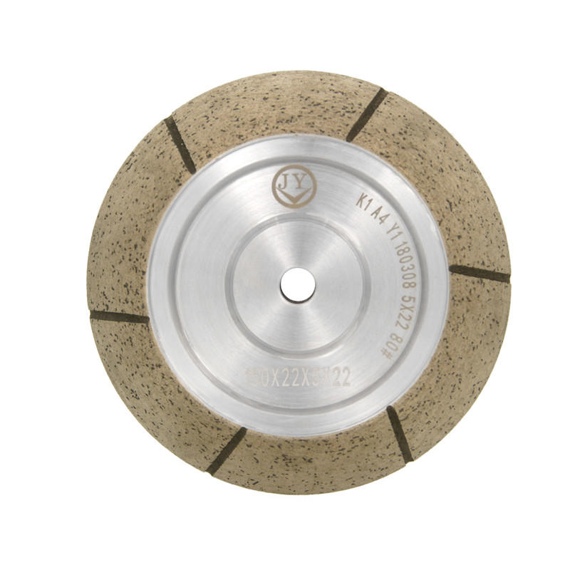 45 degree rough diamond grinding wheel for shape edging machine AC-M45
