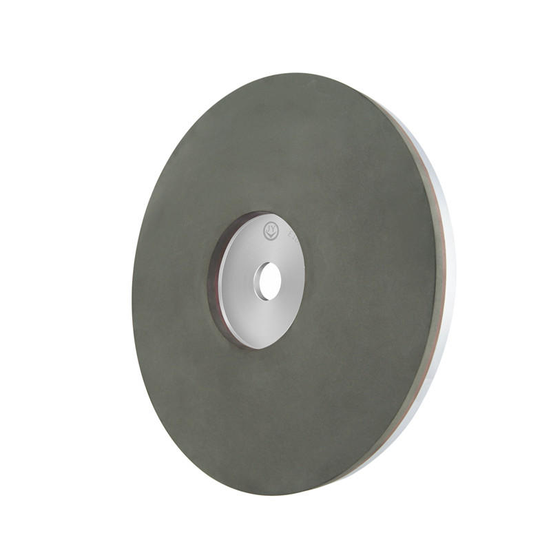 Resin bond abrasive wheel for crystal or glass EM