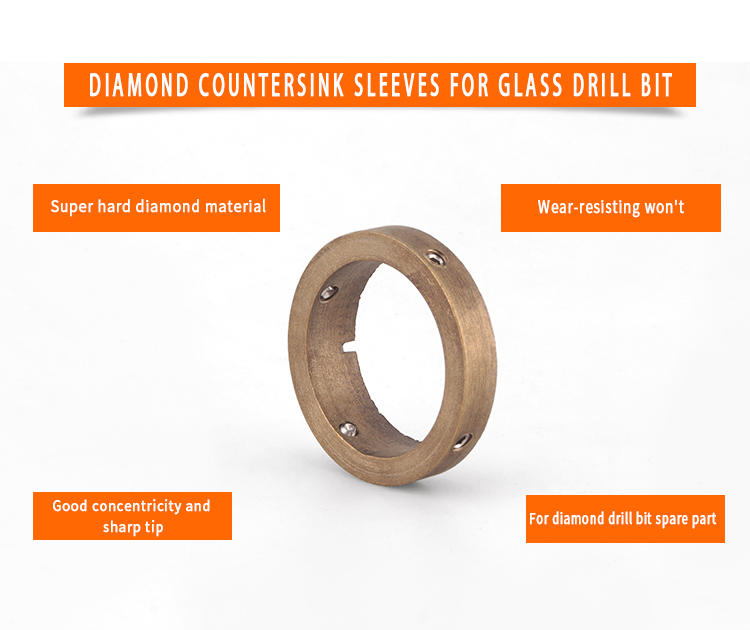 easy-use glass diamond drill bit widely-use for grinding